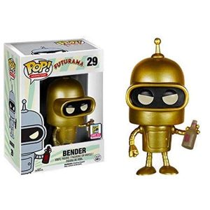 Funko Pop! Bender (Gold) SDCC 2015 [Futurama]