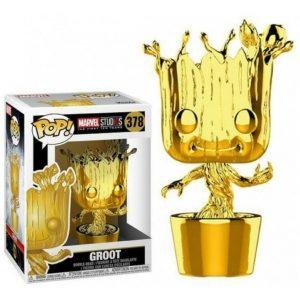 Funko Pop! Groot Oro Cromado [Marvel Studios 10]