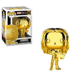 Funko Pop! Gamora [Marvel Studios 10] Cromo dorado