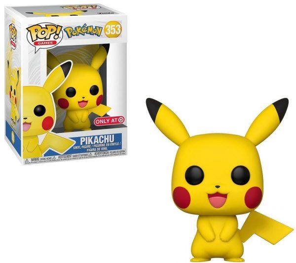 Figura Funko Pop! Games: Pokémon - Pikaxu
