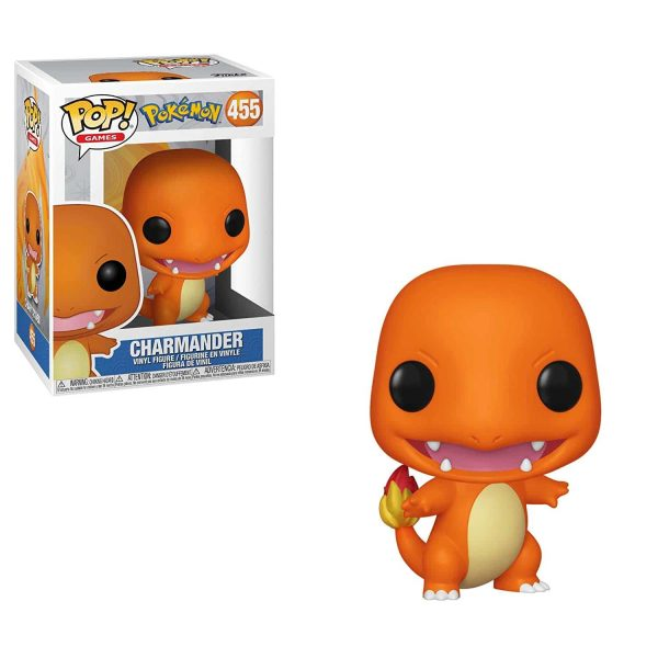 Figura Funko Pop! Games: Pokemon - Charmander