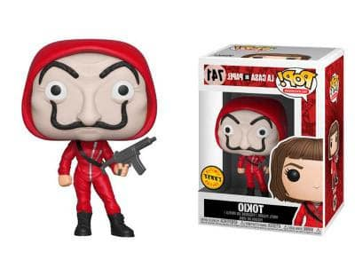 funko pop exclusivo la casa de papel