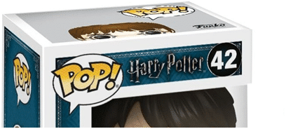 Caja Funko Pop de la línea Harry Potter