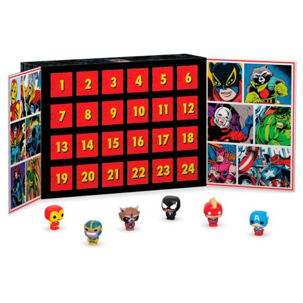 Calendario Adviento Marvel