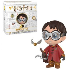 Figura Funko 5 Star Harry Potter Quidditch Exclusivo