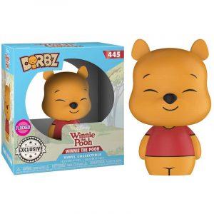Figura Funko Dorbz Disney Winnie the Pooh Flocked Exclusivo