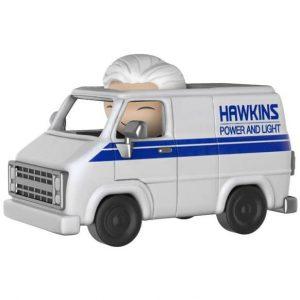 Figura Funko Dorbz Ridez Stranger Things Hawkins Van and Hazmat Suit Bad Guy