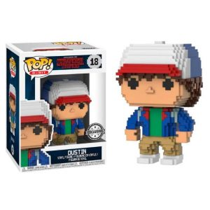 Funko Pop! Dustin (8-Bit) [Stranger Things] Exclusivo