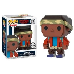 Funko Pop! Lucas (8-Bit) [Stranger Things] Exclusivo
