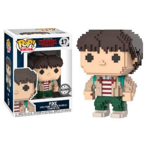 Funko Pop! Mike (8-Bit) [Stranger Things] Exclusivo