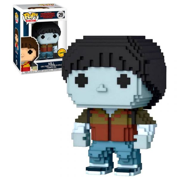 Figura POP 8-Bit Stranger Things Will Exclusive Chase