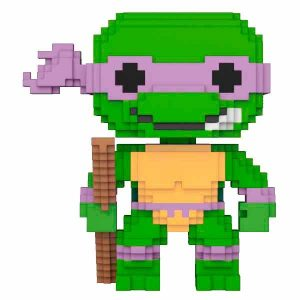 Funko Pop! 8-Bit TMNT Teenage Mutant Tortugas Ninja Donatello