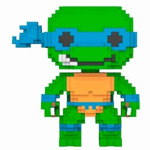 Funko Pop! 8-Bit TMNT Teenage Mutant Tortugas Ninja Leonardo