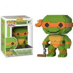Funko Pop! 8-Bit TMNT Teenage Mutant Tortugas Ninja Michelangelo 1
