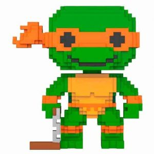 Funko Pop! 8-Bit TMNT Teenage Mutant Tortugas Ninja Michelangelo
