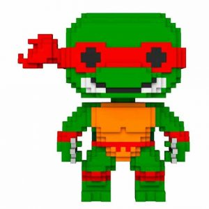 Funko Pop! 8-Bit TMNT Teenage Mutant Tortugas Ninja Raphael