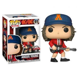 Funko Pop! Angus Young Exclusivo [AC/DC]
