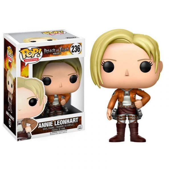 Figura POP Attack on Titan Annie Leonhart