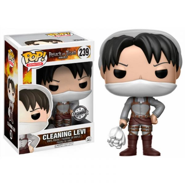 Figura POP! Attack on Titan Cleaning Levi Limited
