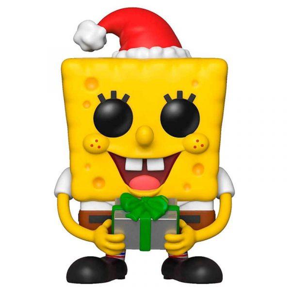 Figura POP Bob Esponja Bob Christmas
