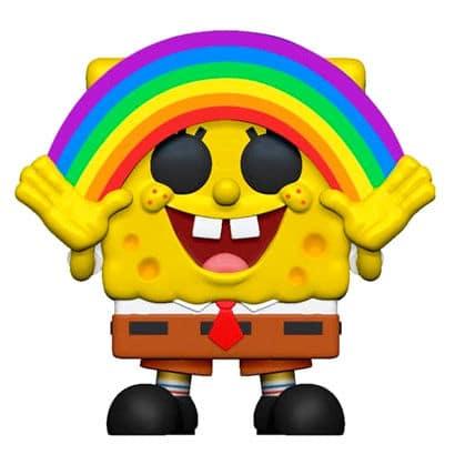 Figura POP Bob Esponja Rainbow