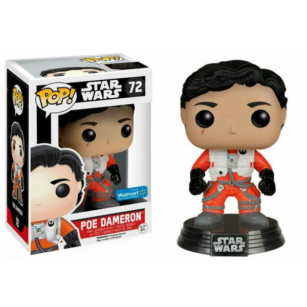 Figura POP! Bobble Star Wars E7 Poe Dameron