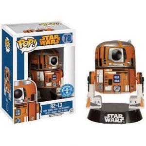 Funko Pop! Bobble Star Wars R2-L3 Exclusivo
