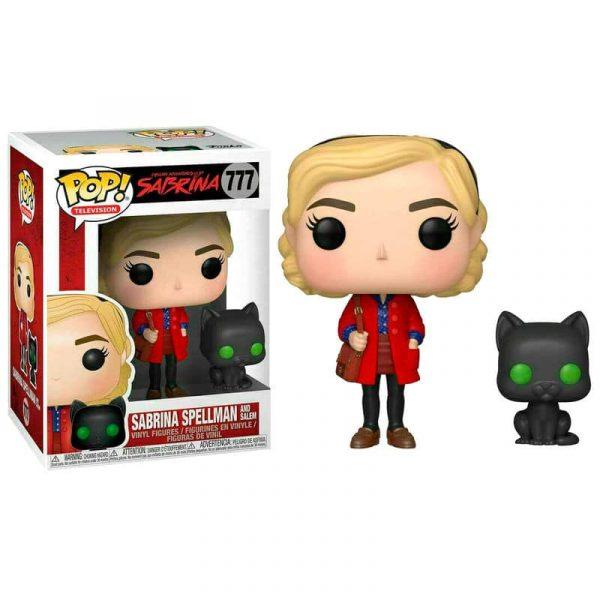 Figura POP Chilling Adventures Sabrina with Salem