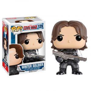 Funko Pop! Civil War Winter Soldier