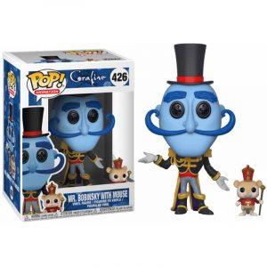 Funko Pop! Mr. Bobinsky (Con Ratón) [Coraline]