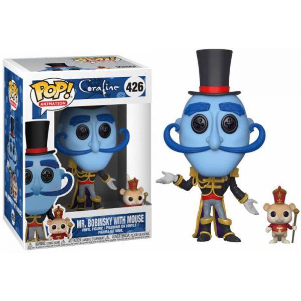 Figura POP Coraline Mr. Bobinsky with Mouse