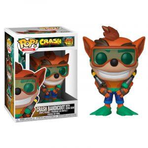 Funko Pop! Crash Bandicoot (Con Gafas de Buceo)