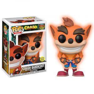 Funko Pop! Crash Bandicoot Exclusivo GITD