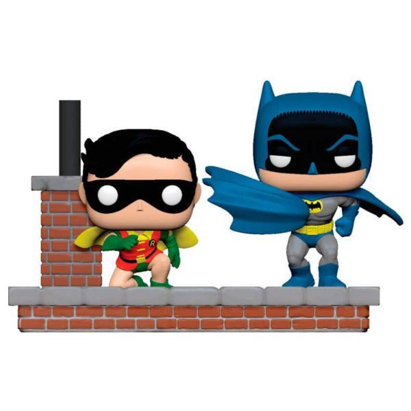 Figura POP DC Comics Batman 80th 1964 Batman and Robin