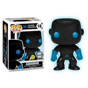 Funko Pop! Aquaman [DC Super Heroes] GITD Exclusivo