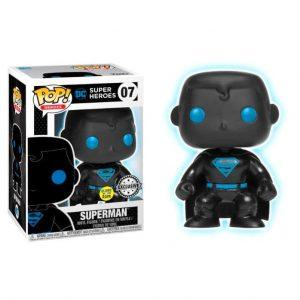 Funko Pop! Superman Exclusivo GITD [Liga de la Justicia]