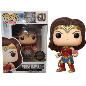 Funko Pop! Wonder Woman [Liga de la Justicia] Exclusivo
