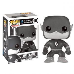 Funko Pop! The Flash (Blanco y Negro) [DC Super Heroes] Exclusivo