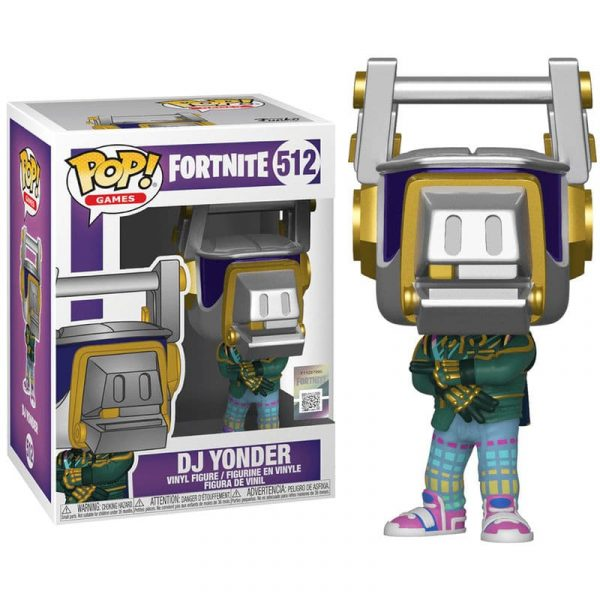 Figura POP DJ Yonder Fortnite