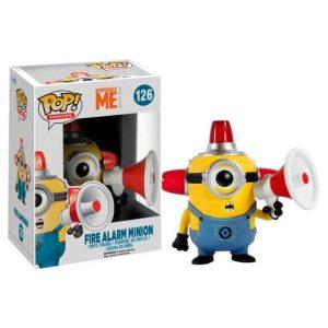 Funko Pop! Fire Alarm Minion [Despicable Me 3]
