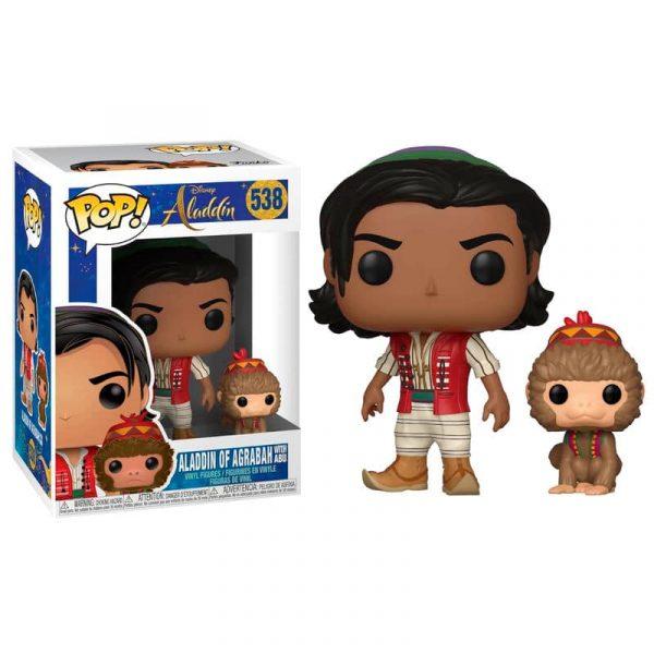 Figura POP Disney Aladdin Aladdin with Abu