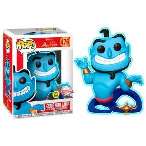 Funko Pop! Genio de la lámpara [Aladdin] GITD Exclusivo