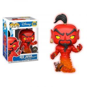 Funko Pop! Jafar Rojo [Aladdin] GITD Chase