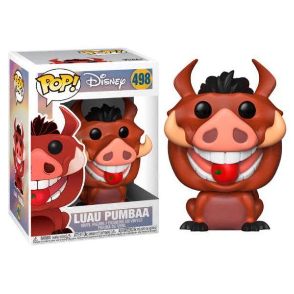 Figura POP Disney El Rey Leon Luau Pumbaa