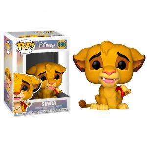 Funko Pop! Simba (Con gusano) (El Rey León)