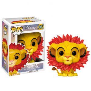 Funko Pop! Simba (Melena de Hojas) [El Rey León]