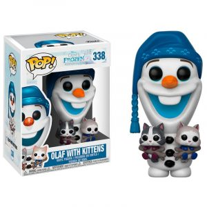 Funko Pop! Olaf (Con Gatos) [Frozen]