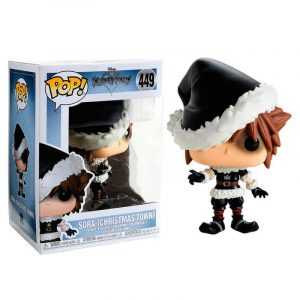 Funko Pop! Sora (Christmas Town) [Kingdom Hearts] Exclusivo