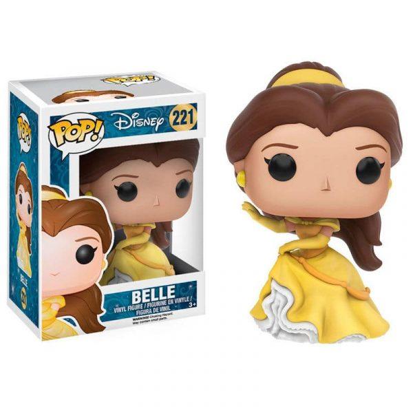 Figura POP Disney La Bella y la Bestia Bella