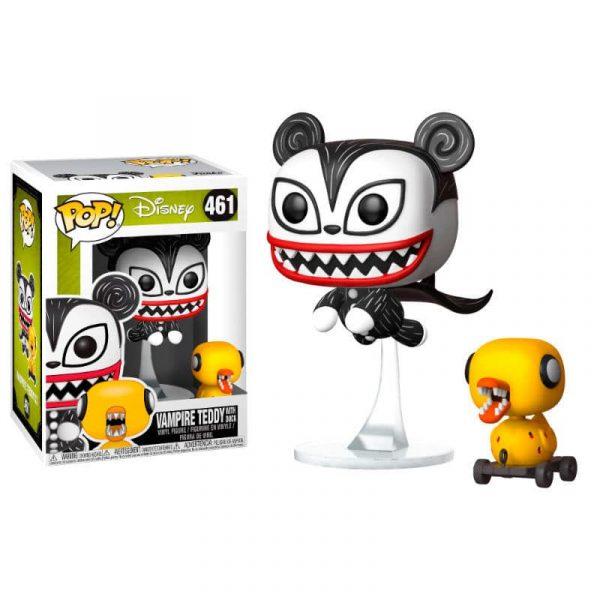 Figura POP Disney Pesadilla Antes de Navidad Vampire Teddy with Undead Duck